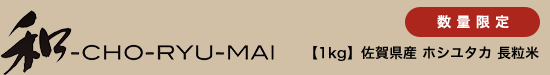 【1kg】佐賀県産 ホシユタカ 長粒米
