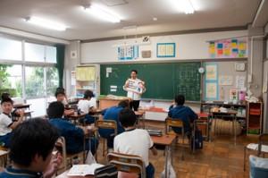 ごはんパワー教室(高階中学校)