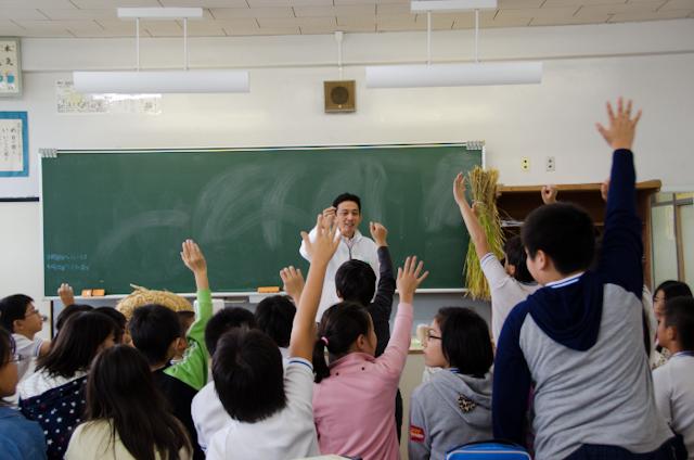 積極的な子どもたち(ごはんパワー教室2013)