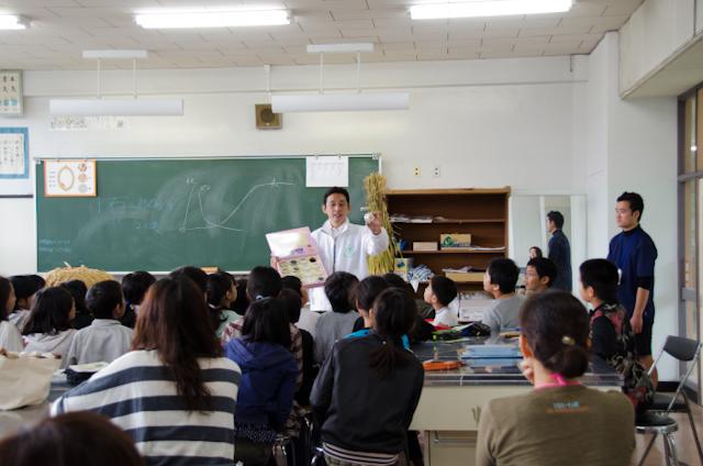 世界のお米(ごはんパワー教室2013)