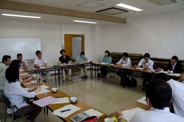 長粒米の検討会とNHK取材(佐賀)