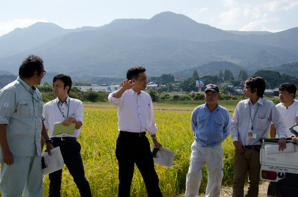 佐賀県 長粒米(ホシユタカ)収穫前検討会