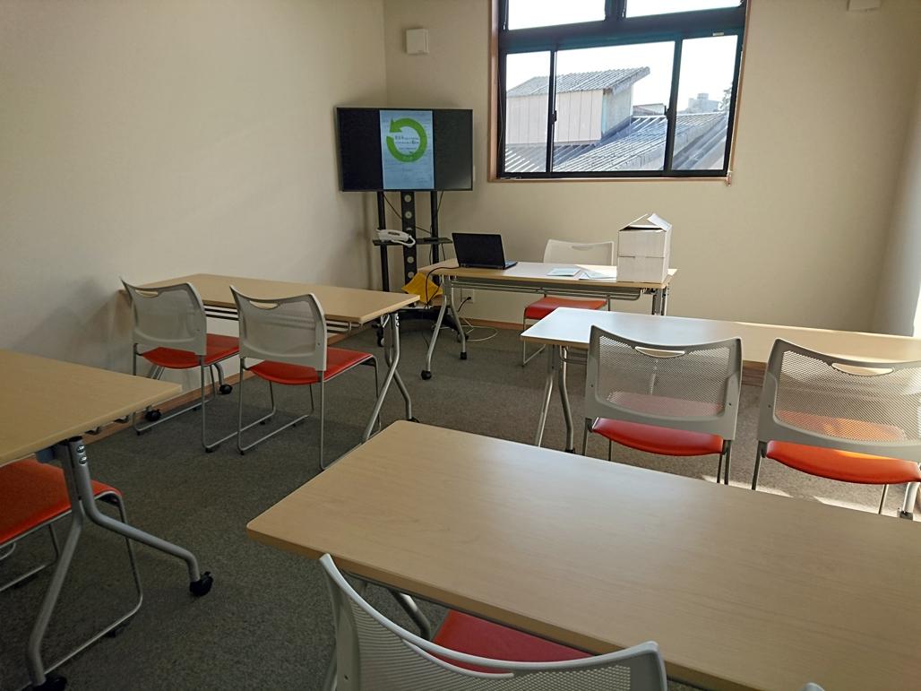 「結の蔵」講習室でセミナースタート