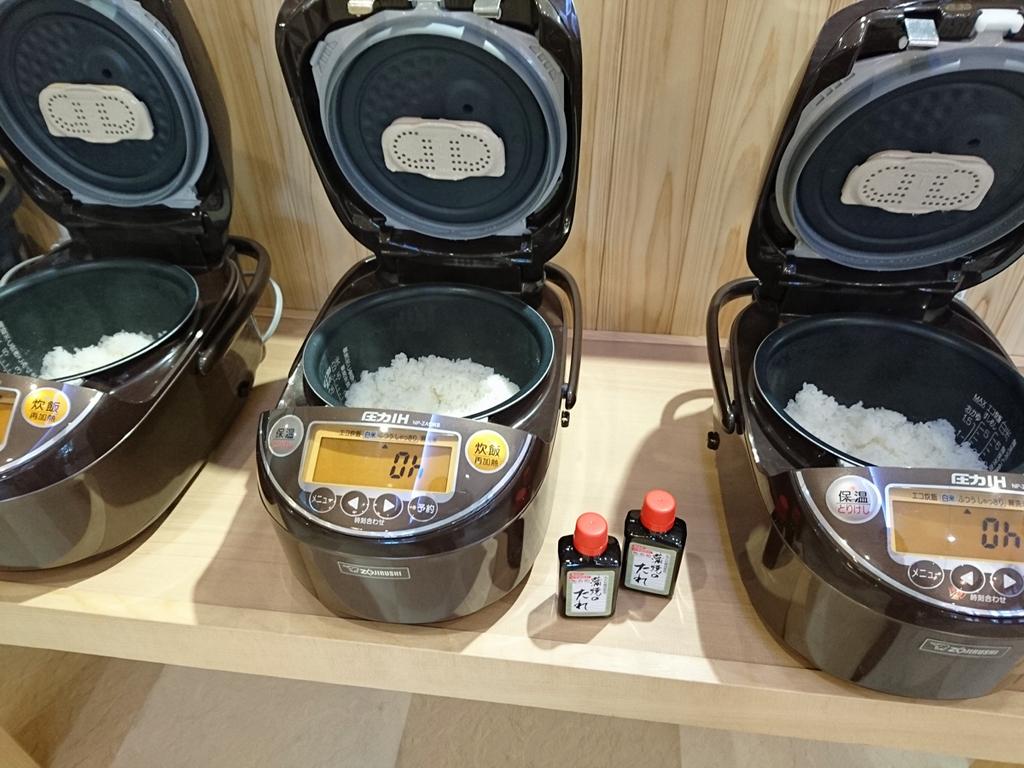 うなぎ重に合うお米「炊飯テスト」
