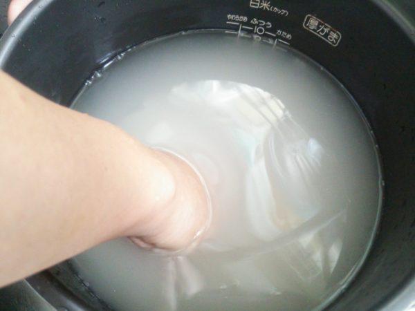 「お米のとぎ汁」エコ活用術