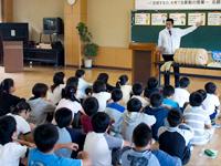 農林水産省 にっぽん食育推進事業 ごはんパワー教室(北越谷小学校)