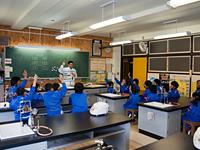 農林水産省 にっぽん食育推進事業 ごはんパワー教室(大滝小学校)2回目