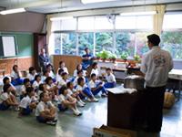 農林水産省 にっぽん食育推進事業 ごはんパワー教室(大滝小学校)