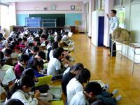 農林水産省 にっぽん食育推進事業 ごはんパワー教室(浦和大里小学校)