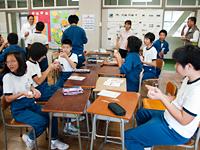 農林水産省 にっぽん食育推進事業 ごはんパワー教室(高階中学校)