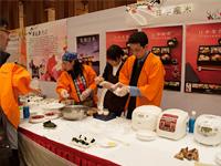 中国大連でお米の講演(WASHOKU事業)