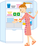 冷蔵保存(野菜室)