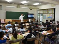 お届け!ごはんパワー教室(所沢市立明峰小学校)2014