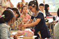 ごはんパワー教室(鶴ヶ島市立藤小学校)2016