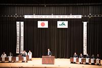 佐賀からつ上場地区 水田農業振興大会