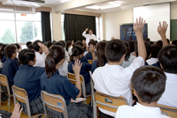 清瀬市立清瀬第四中学校「お米の授業」