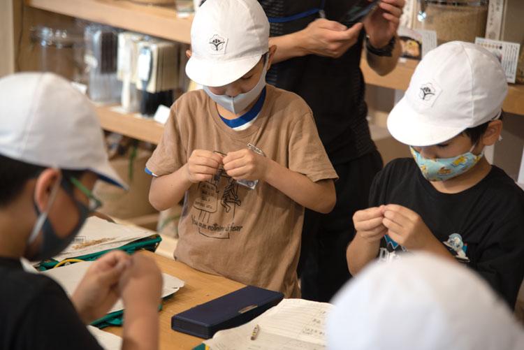 「町の達人に挑戦しよう」 川越小学校3年生