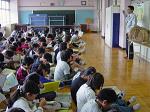 ごはんパワー教室開講(浦和大里小学校5年生 128名)