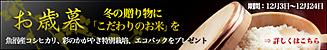 2007お歳暮キャンページ(12月24日まで)素敵な賞品プレゼント!